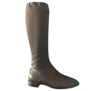 Versace Brown classic boots