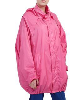Balenciaga pink hooded windbreaker - Current Season