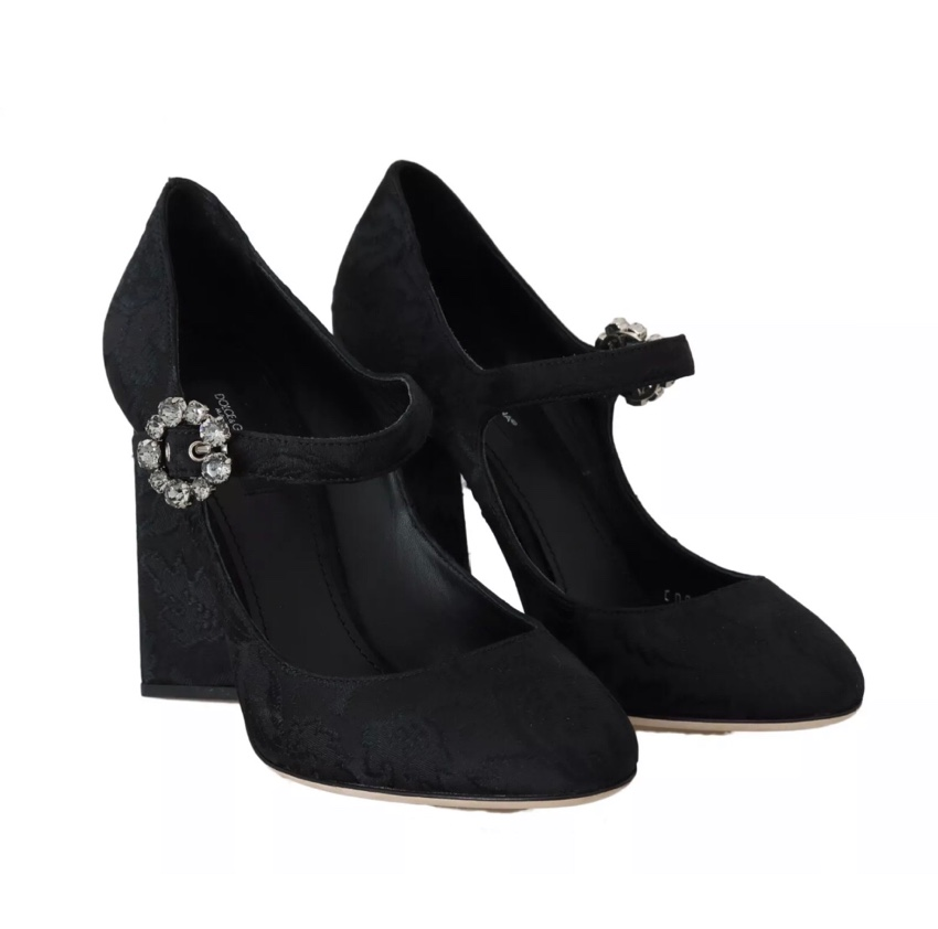 Dolce Gabbana Brocade Mary Jane Pumps