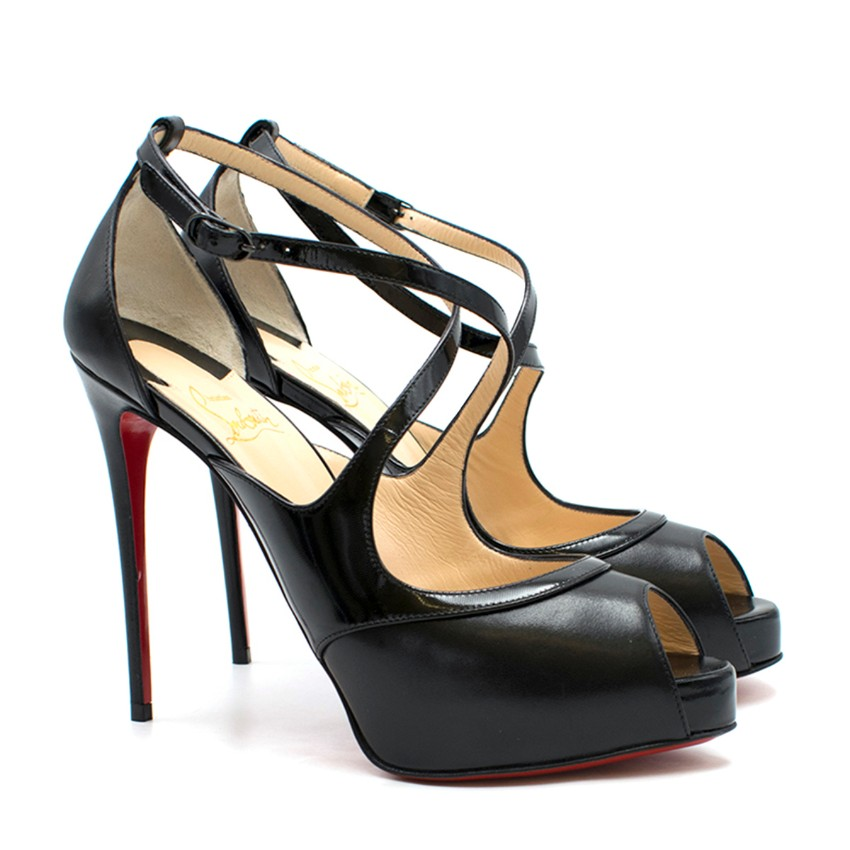 buy online 14ffb e1c3a Christian Louboutin Mirabella Strappy 100mm Heels