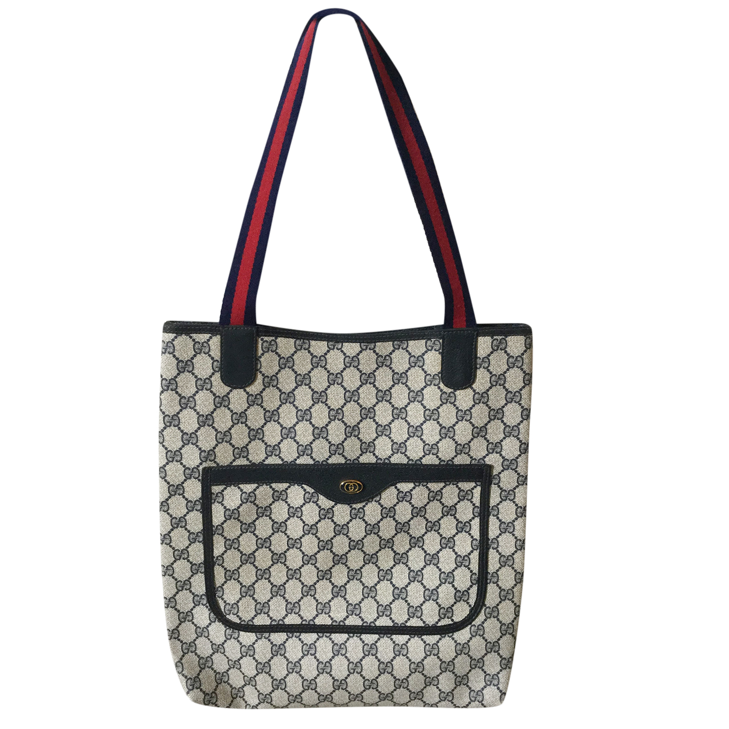 9f54c5be1d1d Gucci Vintage Monogram Coated Canvas Tote | HEWI London
