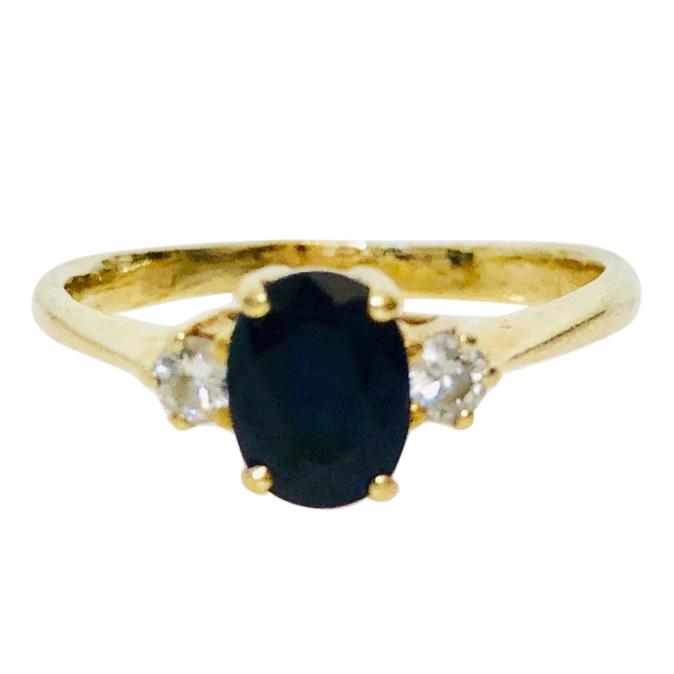 Bespoke Sapphire & Diamond Ring