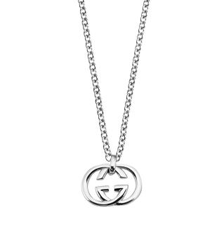 Gucci Britt Logo Necklace