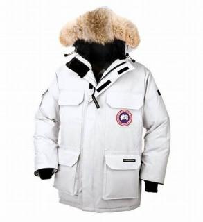 Canada Goose  white parka expedition coat