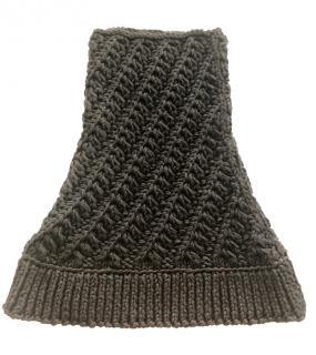 Dolce & Gabbana men's knit neck scarf