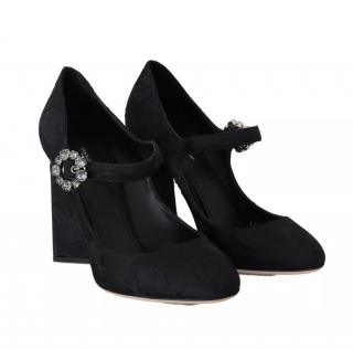 Dolce & Gabbana brocade mary jane pumps