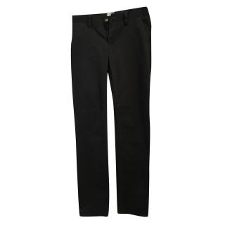 Armani boys navy chinos