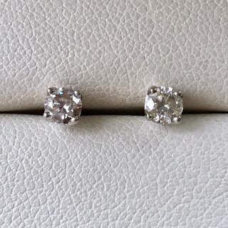 Bespoke 18ct White Gold Diamond Stud Earrings