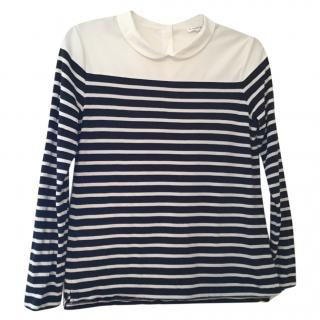 Claude Pierlot striped top, size 3