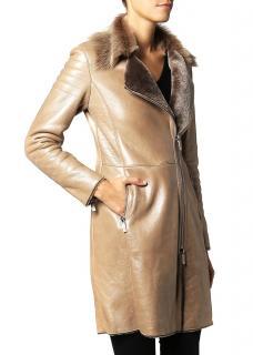 Ventcouvert Drupi Star Leather Winter Coat