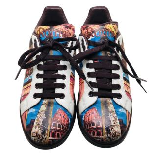 Dolce & Gabbana Roma leather trainers