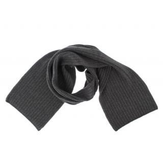Dolce & Gabbana men's grey cashmere scarf