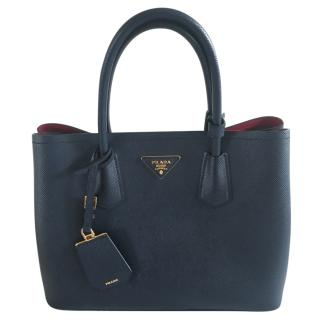 Prada Double Medium Tote Bag