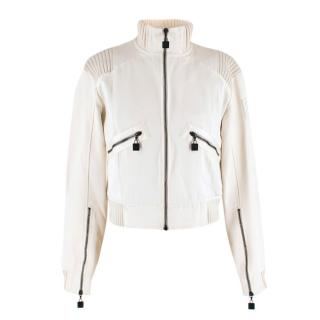 Chanel Identification Off-white Bomber Jacket