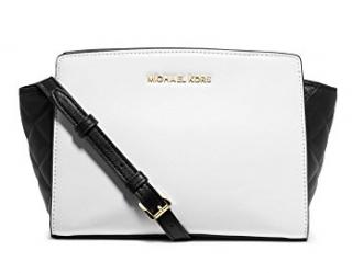 Michael Michael Kors Selma Color Block Leather Messenger Bag