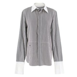 Christian Dior Striped Oversized Cotton Shirt