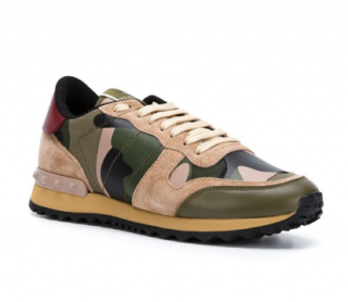 Valentino 'Rockrunner' camouflage trainers
