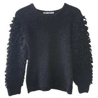 Thakoon Puff-sleeve Wool & Mohair Sweater