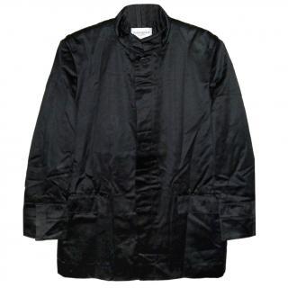Yves Saint Laurent Men's Fitted Cotton Winter Jacket