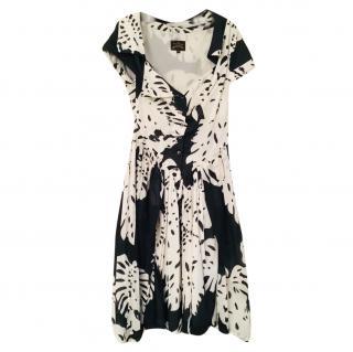 Vivienne Westwood Anglomania Black & White Printed Dress