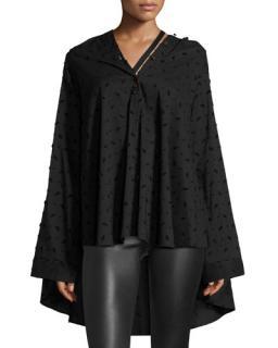 Palmer/Harding Jasmin Oversized Button-Front Shirt