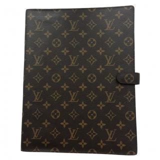 Louis Vuitton Monogram Notebook Folder