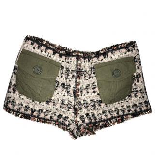 Louis Vuitton Tweed Shorts