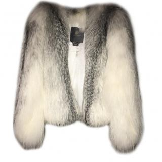 Lilly e Violetta Arctic fox fur jacket