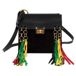 Chloe Jane Tassel Leather Cross-body Bag