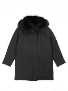 Yves Saloman Army Parka W/ Fox Fur Lining