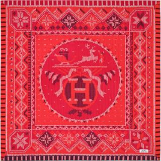 Hermes Coin De Feu Silk Scarf -  CURRENT
