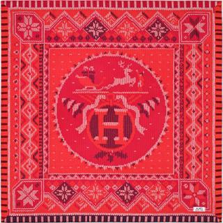 Hermes Coin De Feu Silk Scarf -  CURRENT