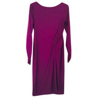 Paule Ka purple jersey dress, size M