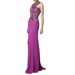 Rani Zakhem Embellished Mermaid Gown