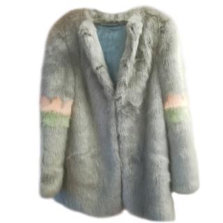 Shrimps Faux Fur Midi Coat