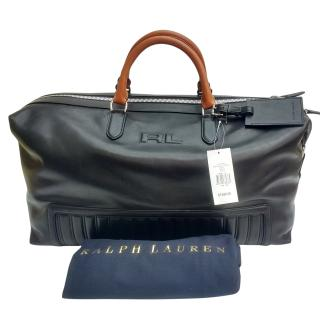 Ralph Lauren Quilted Leather Duffel Bag