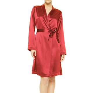 La Perla Silk Red Robe