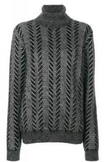 Saint Laurent runway mohair turtleneck  jumper