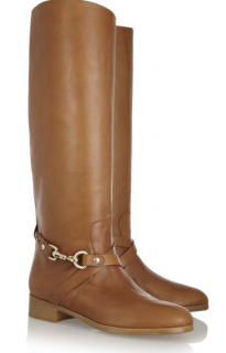 Mulberry dorset leather knee boots