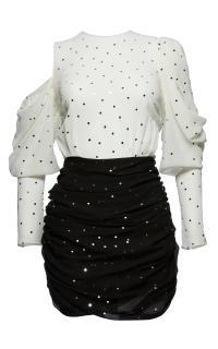 Magda Butrym 'Munster' Embellished Mini Dress