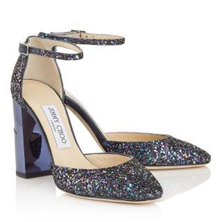 Jimmy Choo mabel glitter heels