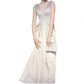 Eliott Claire Diamond Pleated Evening dresss