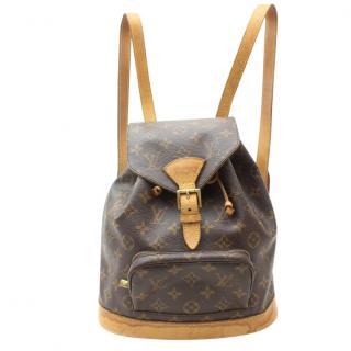 Louis Vuitton Montsouris MM Monogram Backpack