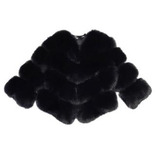 Bespoke fox fur jacket