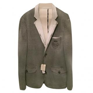Love Moschino grey flannel blazer