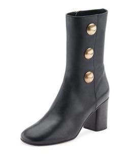Chloe Orlando black ankle boots