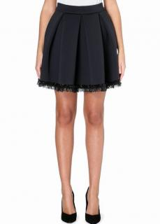 Maje 'Jalouse' Bead-Embellished Neoprene Skirt