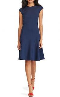 Polo Ralph Lauren Navy Blue Fit & Flare dress
