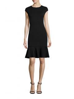 Polo Ralph Lauren Black Fit & Flare Dress