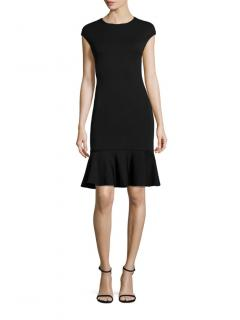 Polo Ralph Lauren Black Fit & Flare Dress